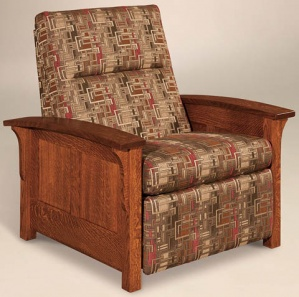 Avery Panel Amish Recliner