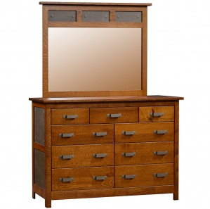 Sutterfield Dresser & Optional Mirror