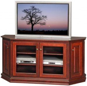 Leighton Corner Amish TV Cabinet