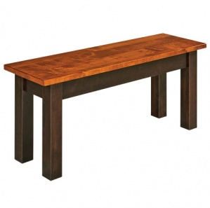 Asheville Storage Dining Bench