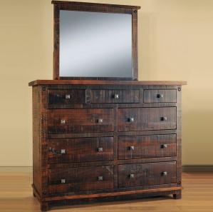 Muskoka Amish Dresser & Optional Mirror