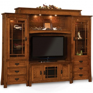 Mariposa Media Wall Unit