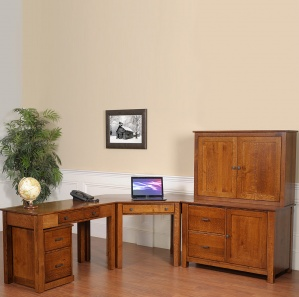 Mission Modular Custom Office Furniture Set