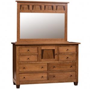 Rock Creek Modern Dresser & Optional Mirror