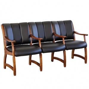 Haviland Three Seater Office Chair