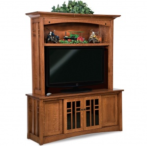 Kascade Amish Entertainment Center