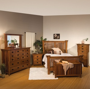 College Hill Amish Bedroom Furniture Set