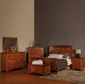 Boulder Creek Amish Bedroom Set