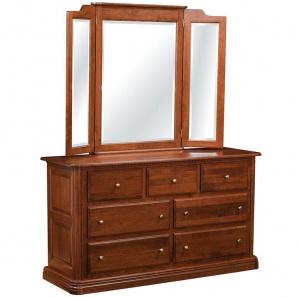 Bellemeade 7 Drawer Dresser and Optional Mirror