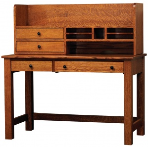 """Rivertowne 48"""" Amish Desk with 1 Drawer & Optional hutch"""