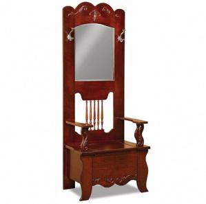 Sussex Mirrored Storage Hall Seat