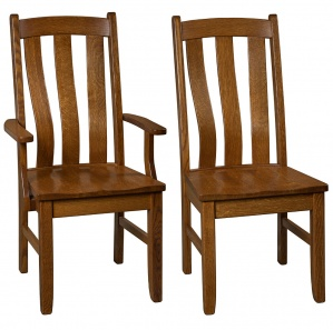 Oakton Amish Dining Chairs