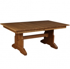 Valencia Trestle Amish Dining Table