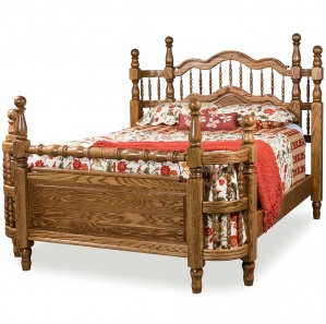 Tall Wrap Around Bed