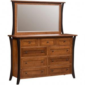 Allegheny Dresser & Optional Mirror