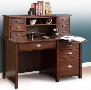 Eshton Writing Desk And Hutch