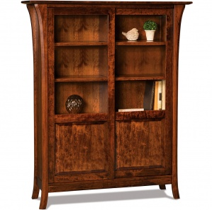 Ensenada 2 Door Amish Bookcase