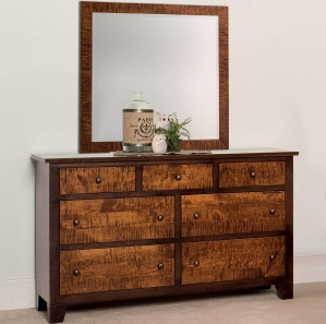 Kimbell Amish Dresser with Mirror Option