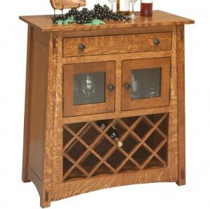 McCoy Wine Rack Amish Server
