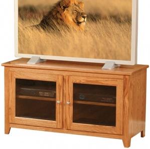 Linden Glass Door TV Cabinet