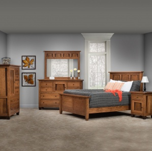 Rock Creek Modern Bedroom Furniture Set