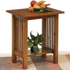 Carmichael Small Amish End Table