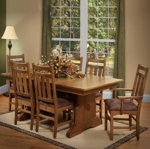 Valencia Amish Dining Room Furniture Set