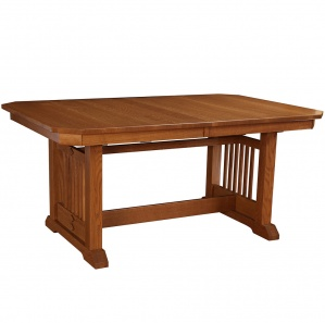 Hacienda Trestle Amish Dining Table