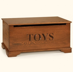 Oak Small Amish Toy Chest