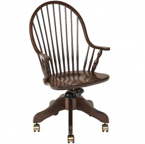 New England Windsor Amish Desk Chair