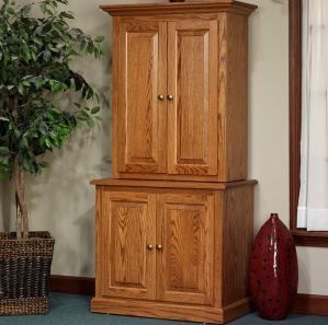 Highland Storage Lateral File Cabinet & Optional Hutch