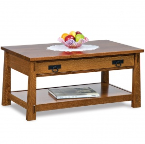 Mariposa Amish Coffee Table with Lift Top Option