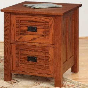 Franklin Wood File Cabinet