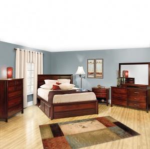 Zenith Amish Bedroom Set