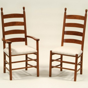 Colonist Amish Kitchen Chairs