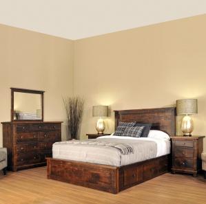 Muskoka Amish Bedroom Furniture Set