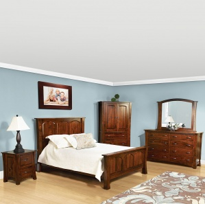 Geddes Avenue Amish Bedroom Set