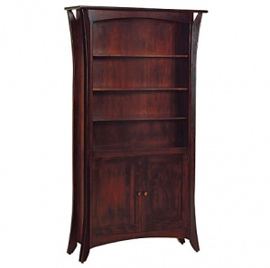 Caledonia Bookcase with Doors