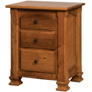 Wyndham 3 Drawer Nightstand