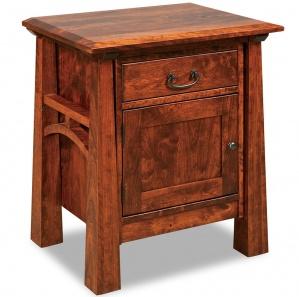 Artesa 1 Drawer, 1 Door Amish Bedroom Nightstand
