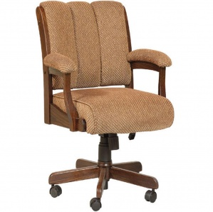 Edelweiss Amish Desk Chair