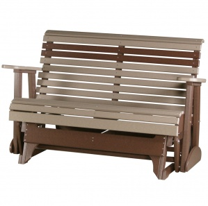 Shady Shore Poly Outdoor Amish Glider