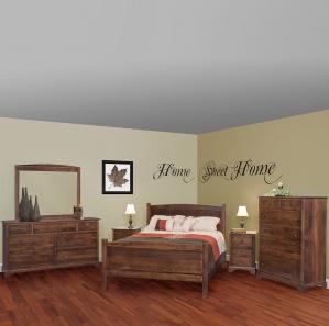 Capitan Amish Bedroom Set