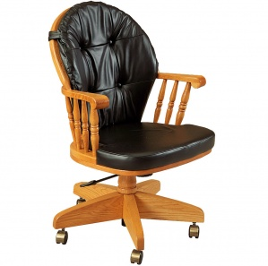 Heritage Amish Desk Chair