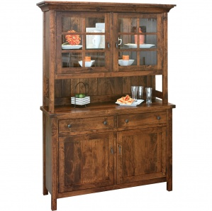 Mill Ridge Amish Buffet with Hutch Option