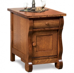 Olde Sleigh Amish End Table Cabinet