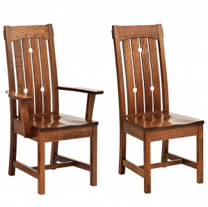Douglas Amish Dining Chairs