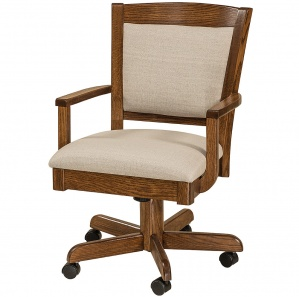 Akron Amish Desk Chair