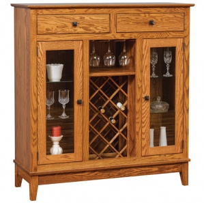 Maple Street Wine Cabinet