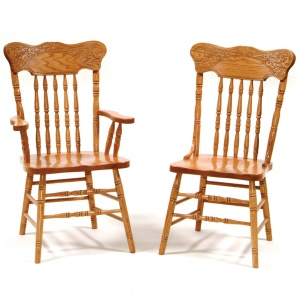 Spring Meadow Amish Dining Chairs